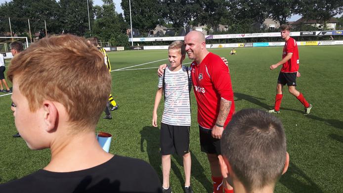 Andy van der Meijde was de meest populaire voetballer bij de jeugd.