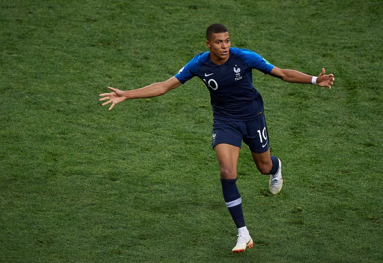 Talent van het WK: Kylian Mbappe. Beeld getty
