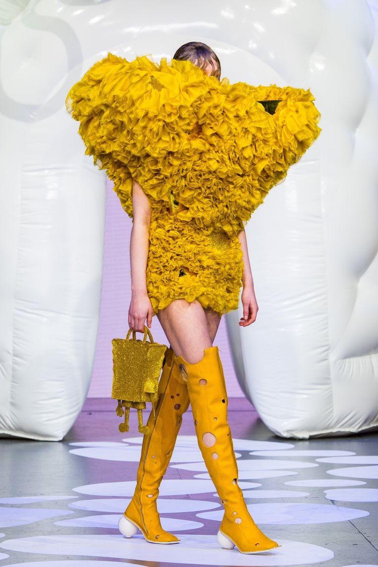 Amsterdam Fashion Week, Show Spongebob x Marlou Breuls.
