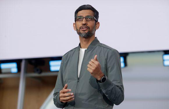 Google-ceo Sundar Pichai komt nu aan het hoofd van moederbedrijf Alphabet te staan.