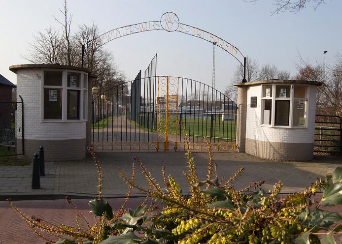 Het voormalige sportcomplex van WVC in Winterswijk.