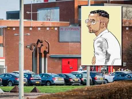 Ontsnappingspoging Mocromaffiakopstuk uit gevangenis Zutphen verijdeld; vier man opgepakt