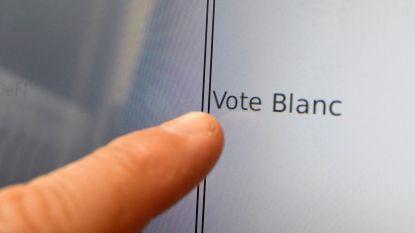 In kanton Anderlecht stemde 8,36% blanco