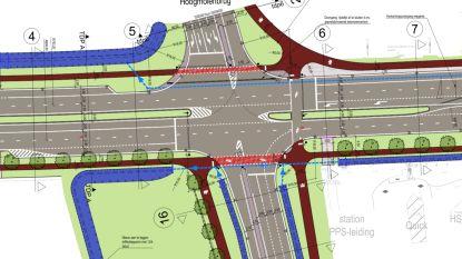 Kruispunt Merksemsebaan wordt 200 meter verlegd: werken starten in augustus en duren tot juni 2021