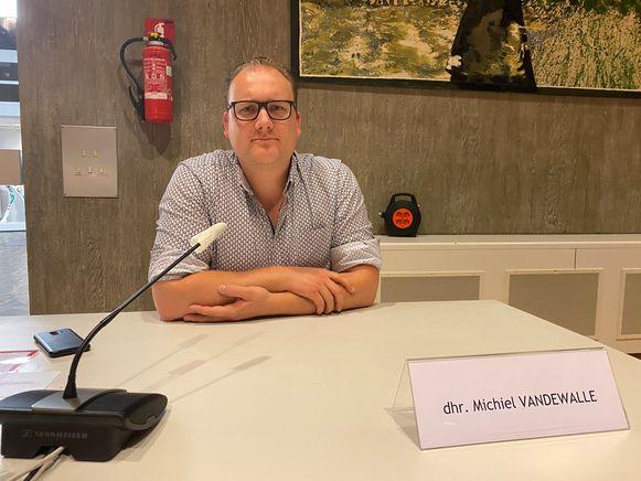Fractieleider Michiel Vandewalle (N-VA/Open Vld).