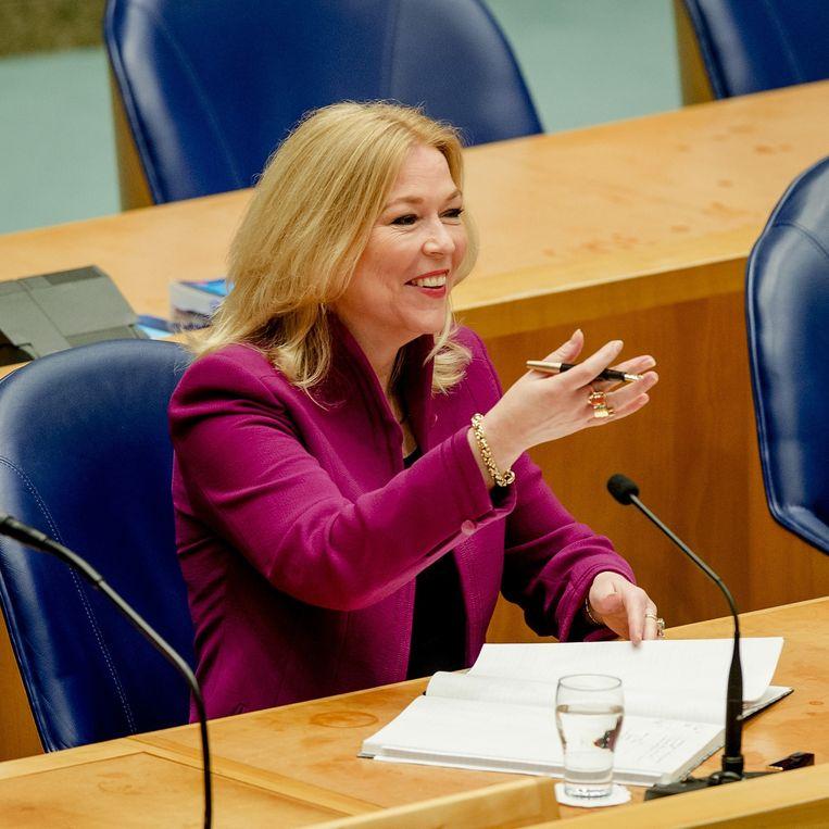 Madeleine van Toorenburg (CDA) Beeld anp