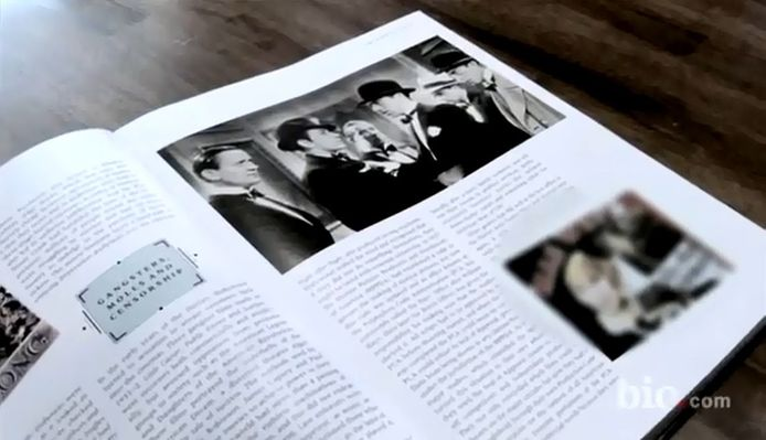De foto van op de set van 'Night After Night'