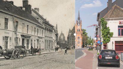 Vroeger en nu: Sint-Amandsberg en zijn torenspits met een verhaal