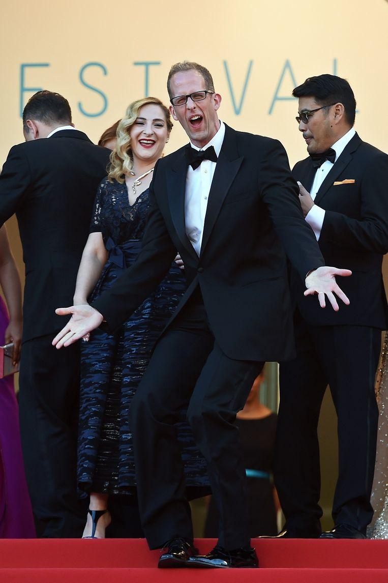 Pete Docter op het filmfestival van Cannes. Beeld afp