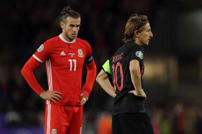 Gareth Bale en Luka Modric