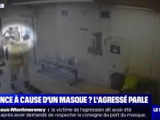 """Lynché à coups de batte de baseball pour avoir demandé le port du masque: """"À deux centimètres près, c'était la morgue"""""""