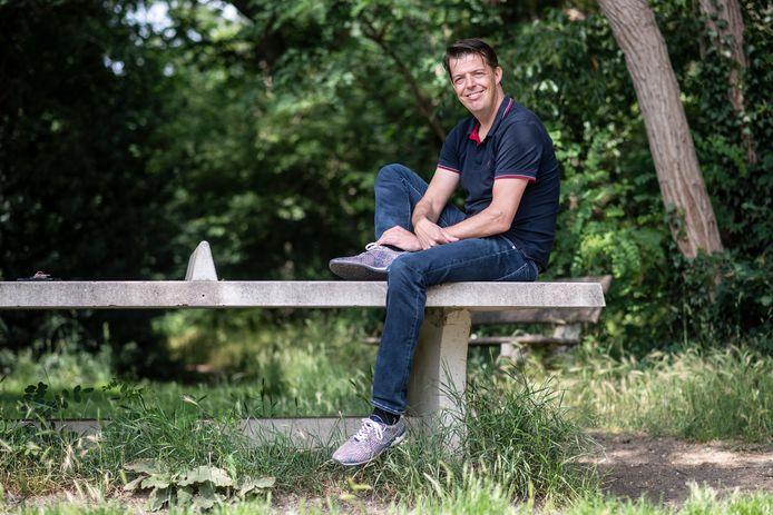 PR dgfoto Gelderlander Nijmegen: Auteur Mark Verhees schrijft boeken over positiviteit