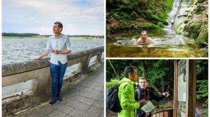 """Christophe Deborsu gidst je door het mooiste van Wallonië: """"Geen zee, wel een meer om in te zwemmen"""""""