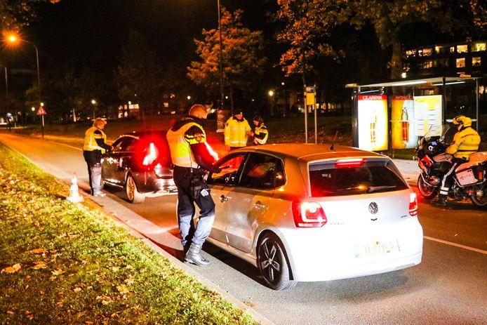 Politie houdt alcoholcontrole