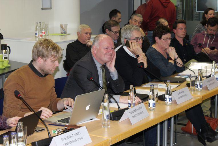 Koen Loete zei maandagavond geen woord op de gemeenteraad. Een schril contrast met de vergadering van begin januari.