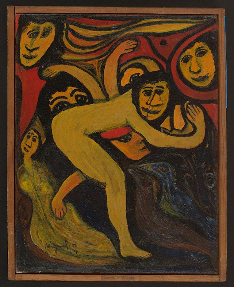Miguel Hernandez, Zonder titel. Beeld Atelier de Numérisation