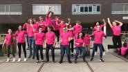 Laatstejaars toveren turnzaal Sint-Jozef om tot springplaneet