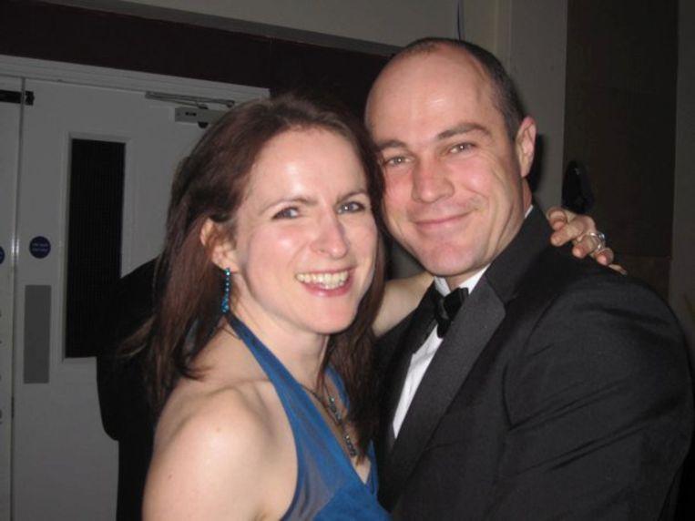 Emile Cilliers met zijn vrouw Victoria in betere tijden.