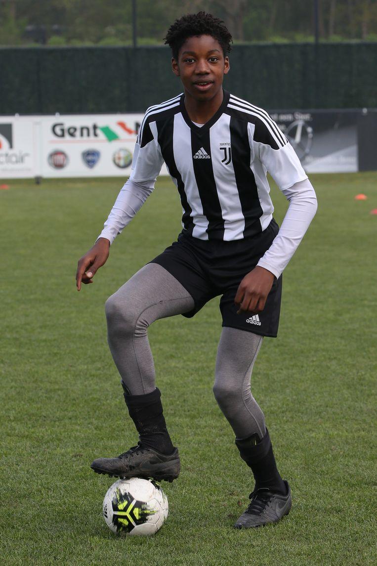 Sidi Diarra in actie.