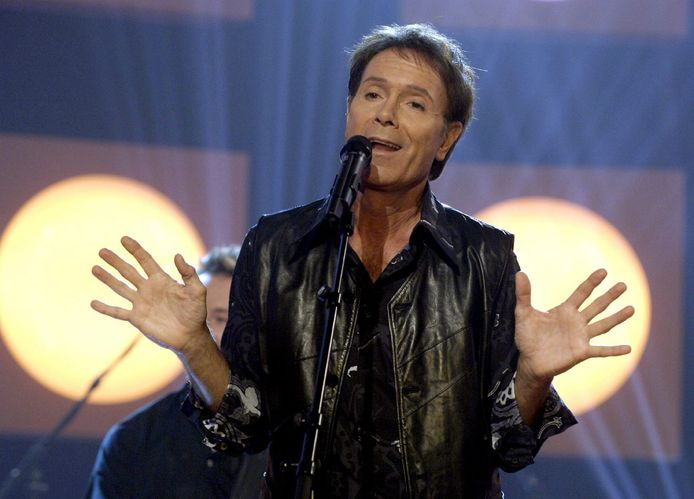 Cliff Richard in 2005.