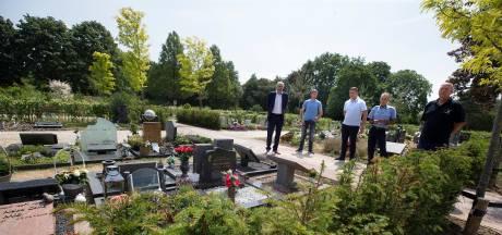 Begraafplaats Duiven na renovatie niet langer 'kil en kaal'