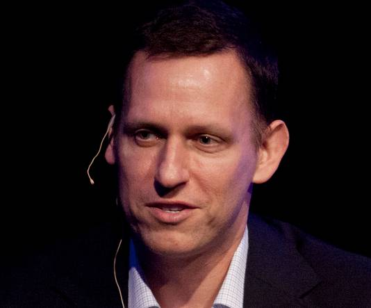 Dotcom-miljardair Peter Thiel is een grote meneer in Silicon Valley