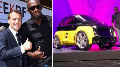 Usain Bolt lanceert elektrische deelauto die vanaf 2020 steden moet veroveren