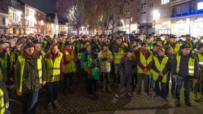 100 SMI-leerlingen stapten van Fort van Breendonk naar Vredeplein