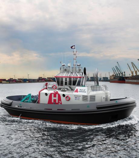 Wereldprimeur voor Antwerpse haven: sleepboot (deels) op waterstof op komst