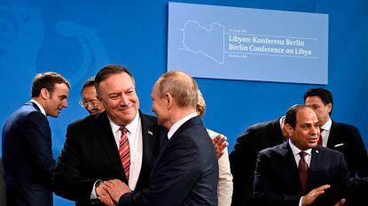 """Pompeo na Libië-top in Berlijn: """"Vooruitgang geboekt, maar er is nog veel werk"""""""