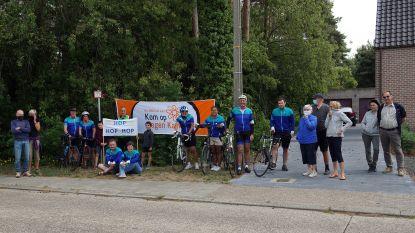 Molshoop fietst virtueel 11.000 euro bij elkaar voor Kom op Tegen Kanker