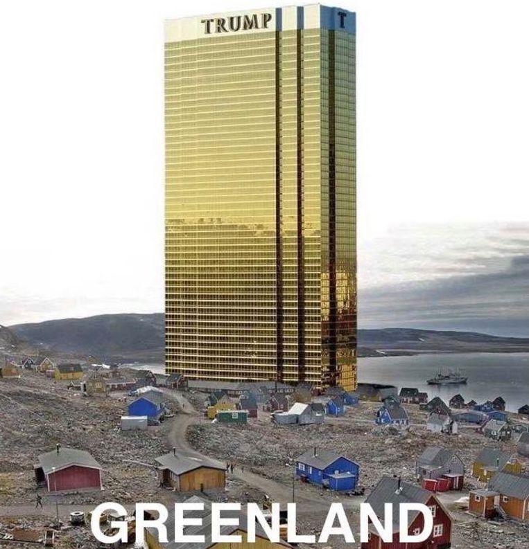 Image result for groenland Trump meme