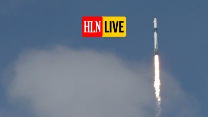 HLN LIVE. De Crew Dragon is nu op weg naar het internationale ruimtestation ISS met de twee astronauten
