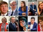 Les visages du nouveau gouvernement flamand