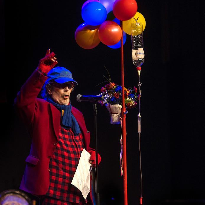 Tonpraoter Harry Hens stond zaterdag weer op het podium.