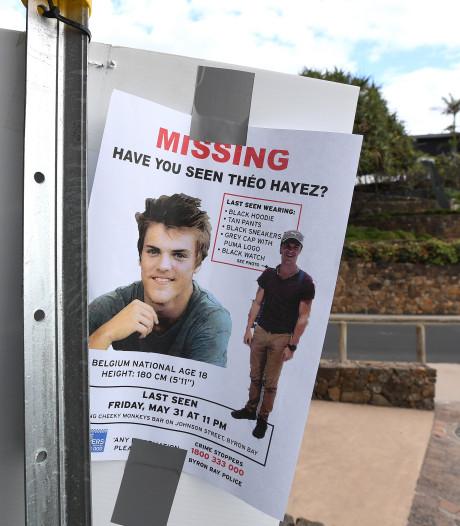Belgische politie naar Australië om te helpen bij zoektocht vermiste Théo (18)
