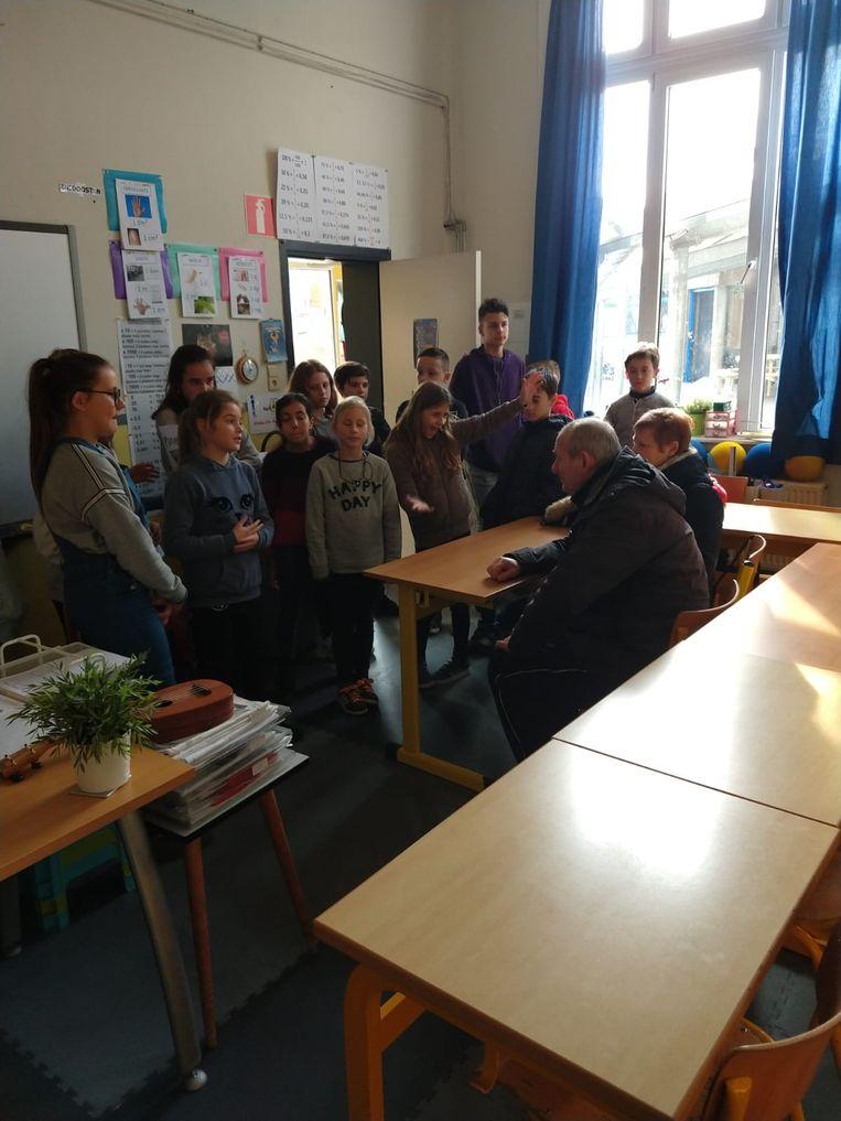 De klimaattop op basisschool De Zilverberk in Haaltert.