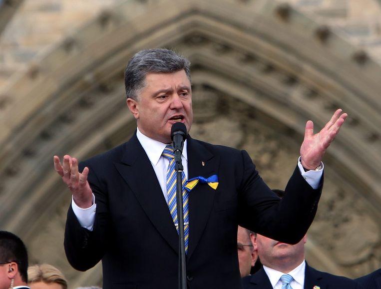 Petro Porosjenko Beeld ap