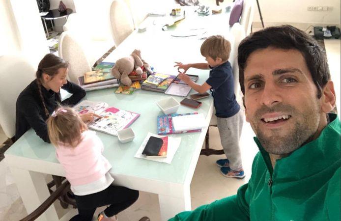 La famille Djokovic