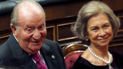 Koning Juan Carlos viert 81e verjaardag in alle rust