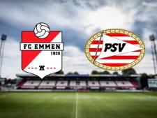 PSV opent tweede seizoenshelft tegen Emmen