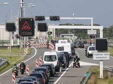 Tot morgenochtend verkeershinder Afsluitdijk