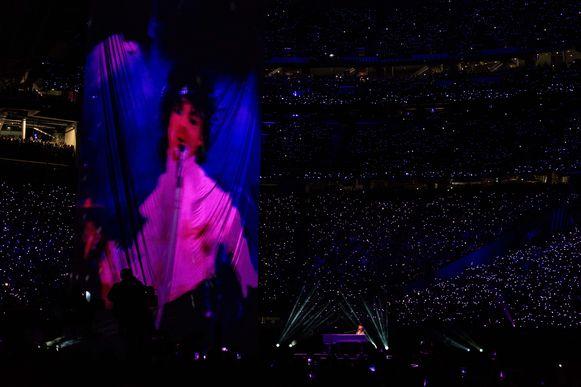Justin Timberlake met de video van Prince.