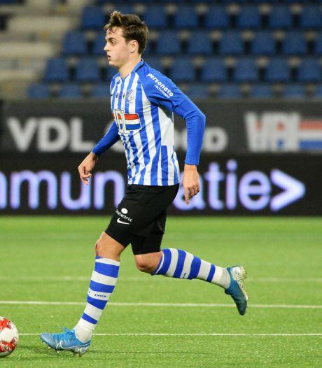 Ook NAC jaagt op linksbuiten Kaj de Rooij van FC Eindhoven