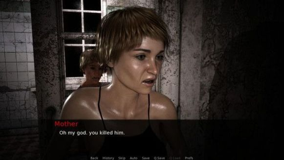 Screenshot uit 'Rape Day'.