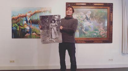 Kleinzoon Lionel maakt kunstwerken op basis van oeuvre van overgrootmoeder Clara Voortman