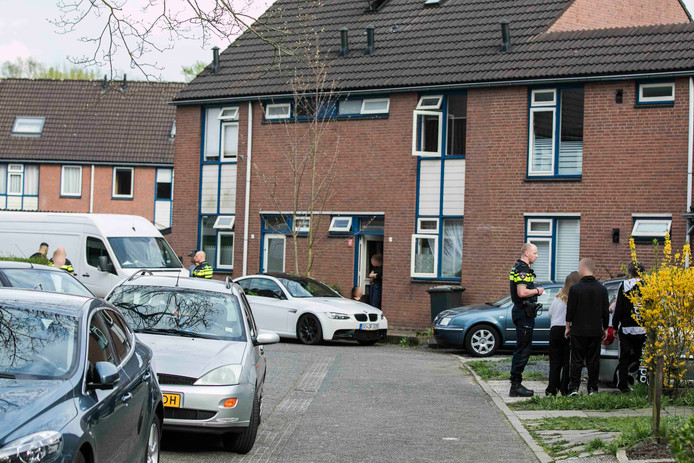 Op de Raveland in Westervoort ontstond een ruzie tussen buren na een verkeersconflict.