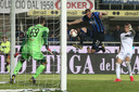 Ook Hans Hateboer slaagt er niet in Empoli-doelman Bartlomiej Dragowski te passeren.