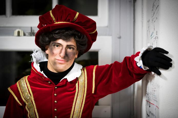 Zo ziet de nieuwe Amsterdamse Piet eruit.