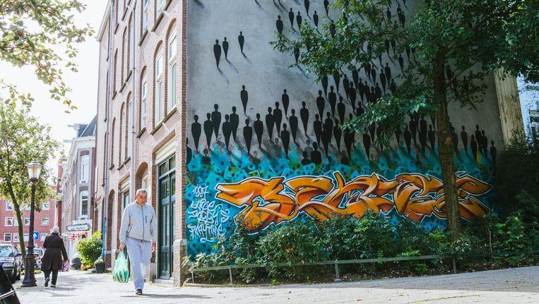 Streetart in West Beeld Caecilia Rasch